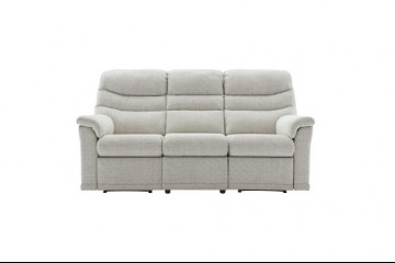 Malvern Fabric 3 Seater Sofa (3 Cushions)