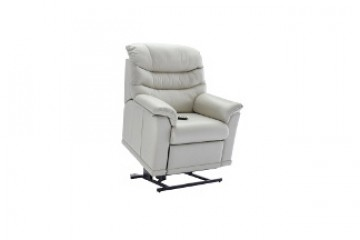 Malvern Leather Elevate Small Chair With Dual Motor