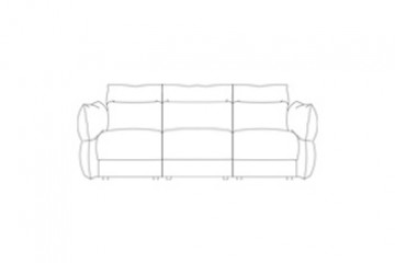 Tess Leather 3 Seater Sofa (3 Cushions)