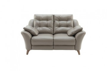 Pip Leather 2 Seater Sofa