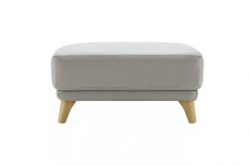 Pip Leather Footstool