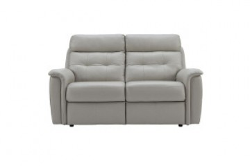 Marple Leather 2 Seater Recliner Sofa (Double)