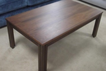 Coffee Table In Walnut
