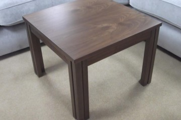 Lamp Table In Walnut