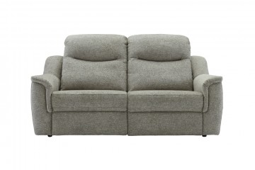 Firth Fabric 3 Seater Sofa (2 Cushions)