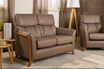 Florence 2 Seater Sofa In Leather